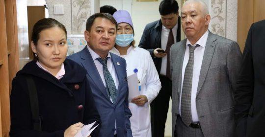 Денсаулық сақтау министрінің орынбасары аймақтағы медициналық мекемелерді аралады