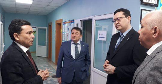 Денсаулық сақтау министрінің орынбасары О.Әбішев іссапармен Маңғыстауда болды